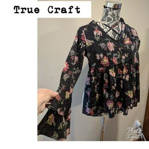 Gorgeous Top by True Craft! Brand New!